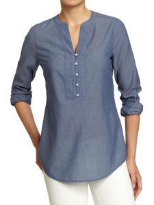 Old Navy Chambray Tunic