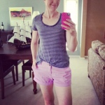 GAP tee, Old Navy shorts